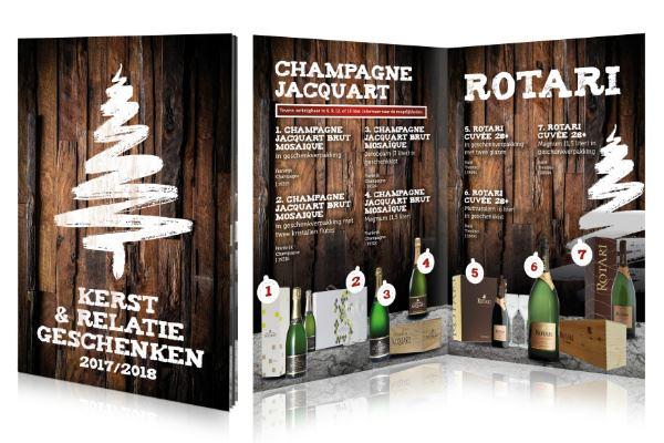 Kerst Relatiegeschenken Folder Dgs Wijn