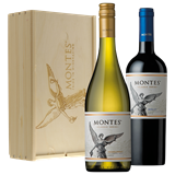 Afbeelding van Montes Reserva Chardonnay/Merlot (in kist)