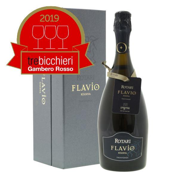 Tre Bicchieri voor Rotari Flavio!