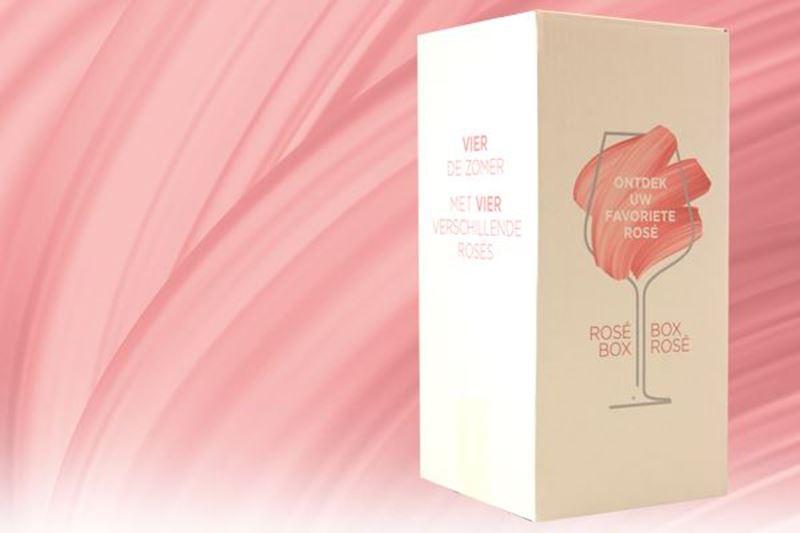 NIEUW! De rosé box
