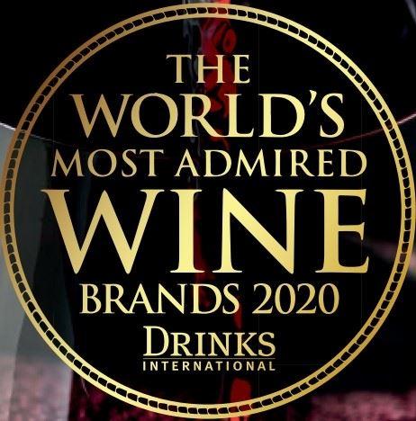 Most admired wine brands