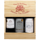 Afbeelding van Bordeaux Sélection Vins Médaillés (in 3-vaks kist)