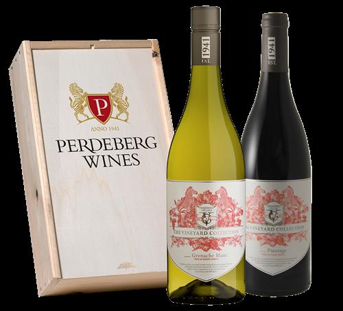 Afbeelding van Perdeberg Grenache Blanc & Pinotage (in geschenkkist)*