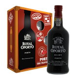 Afbeelding van Royal Oporto The Traveler Ruby port (geschenkverpakking met 2 glazen)