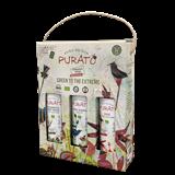 Afbeelding van BIO Purato 3 wijnen in geschenkverpakking.